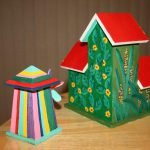 More Painted Bird Houses
