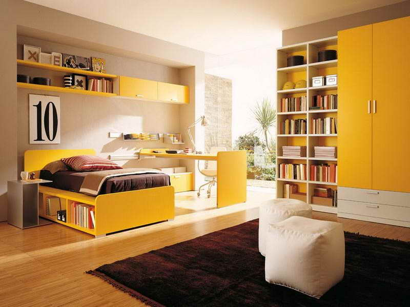 Most Popular Interior Paint Colors Yellow Theme