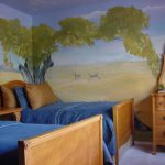 Nature Bedroom Wall Painting Decor