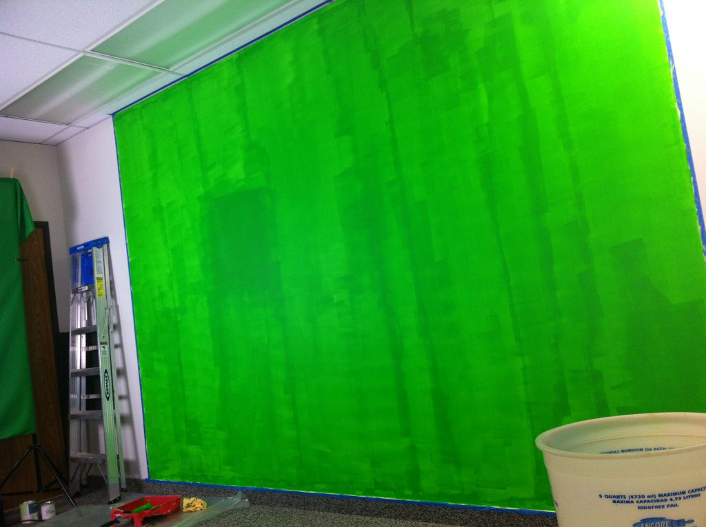 Neon Green Interior Paint Bensmithson Chroma Key