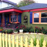 New Orleans House Paint Colors Olive Green Fuchsia Indigo And More