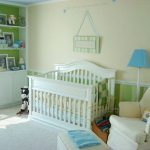 Nursery For Her Little Guy The Cheerful Colors Make This Room Very