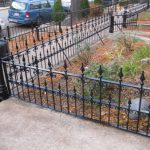 Old Town Painter Metal Fence Railings Painting Chicago
