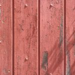 Old Wood Fence Peeling Red Paint Texture Free High Resolution