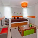 Orange Stripe Paint Ideas For Bedroom