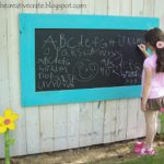 Outdoor Chalkboard Example How Prevent Your