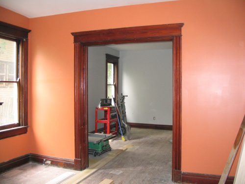 Paint All The Rooms Before Puts Trim And Losing Painted
