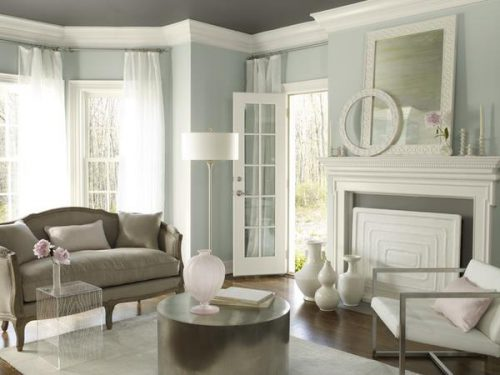 Paint Colors Benjamin Moore Smoke Wall Kendall