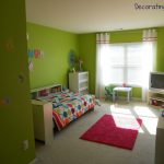Paint Colors For Small Bedrooms Finished Green Color Decorating