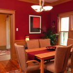 Paint Dining Room Colors Home Painting Rooms Painted Red