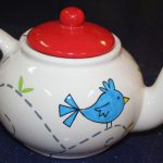 Paint This Design Teapot Another Piece Works Great