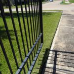 Paint Wrought Iron Fencing From Hail Impacts