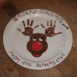 Paint Your Own Pottery Christmas Idea