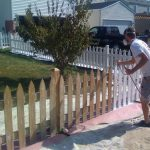 Painted And Stained Fences Oswego Montgomery Yorkville