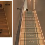 Painted Stair Before And After Bella Tucker Decorative Finishes