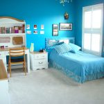 Painting And Decorating Ideas All Blue Layout Girls Room Paint