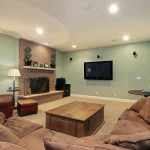 Painting Basement Appear Bigger And Brighter