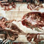 Painting Ceiling Sistine Chapel Getty Images