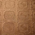 Painting Faux Tin Ceiling Tiles