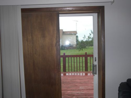 Painting Ing Should Paint Interior Pocket Doors Which