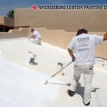 Painting Residential Commercial Elastomeric Coatings Roof Coating