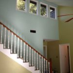 Painting The Stairs And Railing Valspar Porch Floor Fired Earth