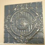 Painting Tin Ceiling Tiles