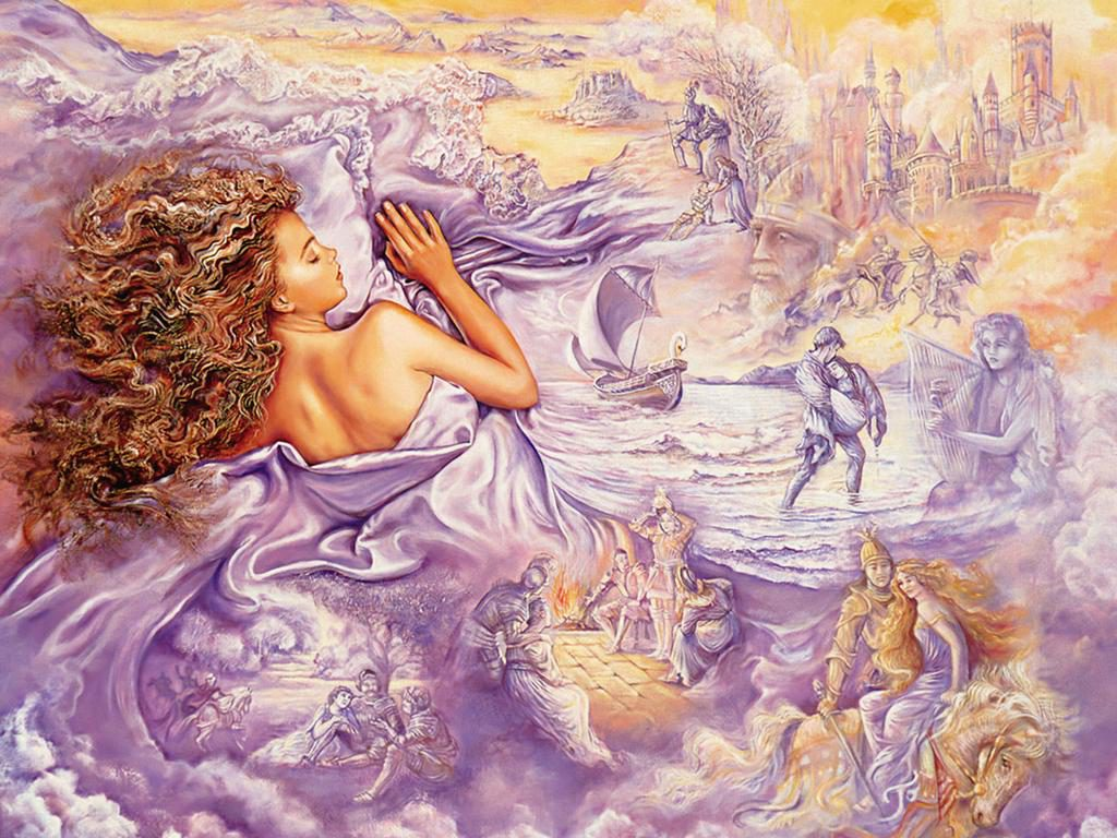 Painting Well Known English Painter Josephine Wall Art