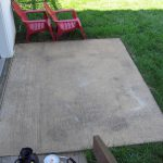 Picked Gallon Concrete Stain And Sprayer From Home Depot