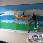 Pipeline Wall Mural Commissioned North Shore Systems
