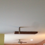 Popcorn Ceiling Removal Paint Phase