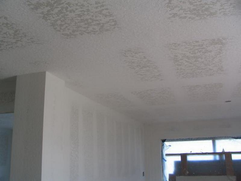 Popcorn Textured Ceiling Paint