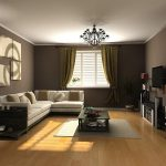 Popular Brown Paint Colors For Living Room Modern Interior
