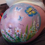 Pregnant Belly Painting From This Weekend