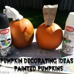 Pumpkin Decorating Ideas Painted Pumpkins