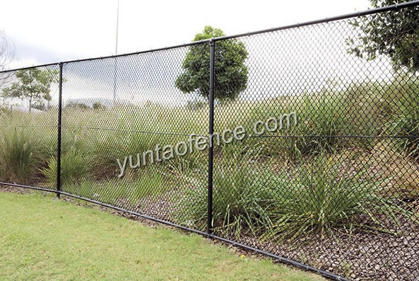 Pvc Coated Chain Link Fencing Fence Are