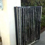 Recently Tourneau Painting Was Hired Sand And Paint Metal Gate