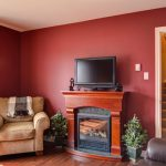 Red Living Room Excellent Paint Color Ideas
