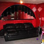 Red Living Room Paint Design Model And