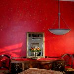 Red Wall Treatments Choosing Paint Color