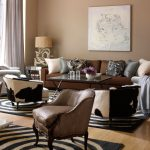 Related For Living Room Brown Paint Colors