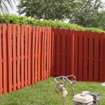 Residencial House Painting Fence