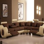 Room Decorations Modern Brown Themes Living Monochrome Colors