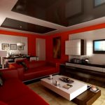 Room Paint Ideas Red Design Living Colors