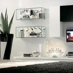 Room Painting Ideas Combining Black And White Proper Furniture
