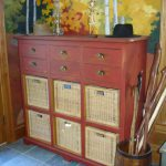 Rustic Decor Would Complete Commode Like This