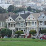 San Francisco Painted Ladies And Full House The Very Left