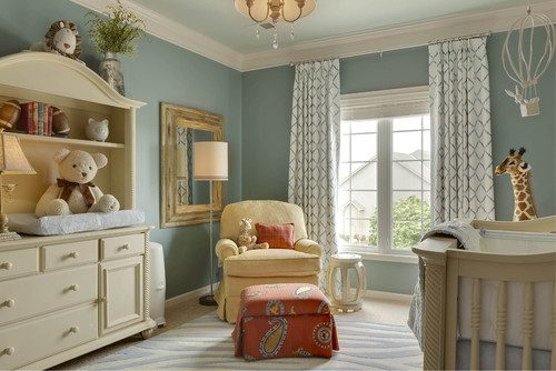 Sherwin Williams Copen Blue And Orange Color Combo For Ren