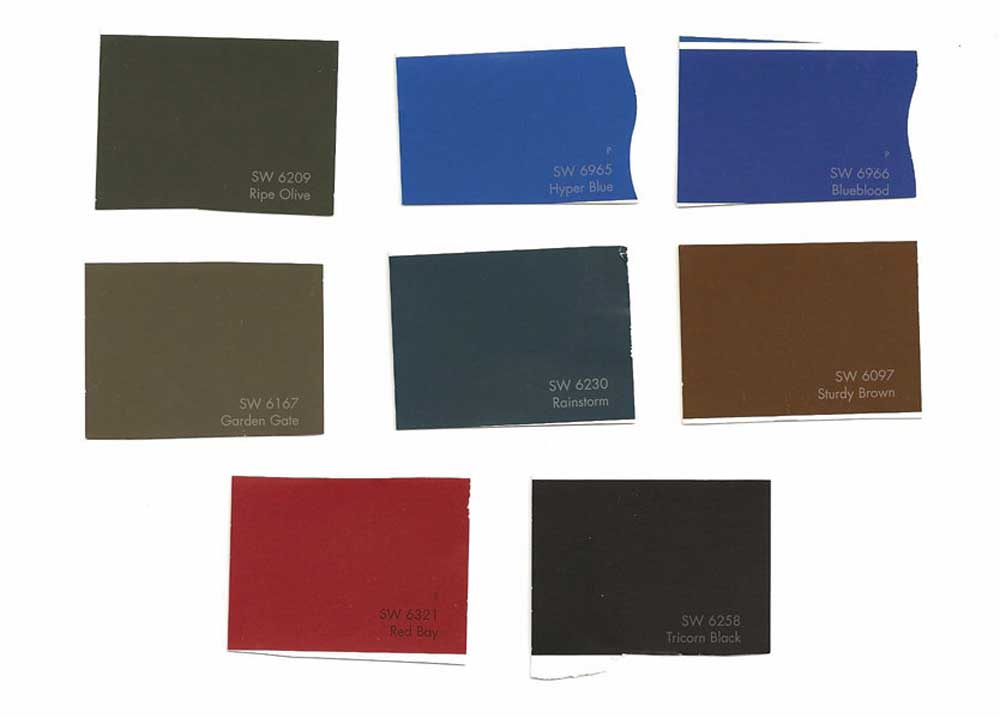 Sherwin Williams Exterior Paint Colors Accent