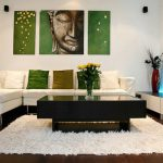 Small Modern Living Room Painting Wall Ideas